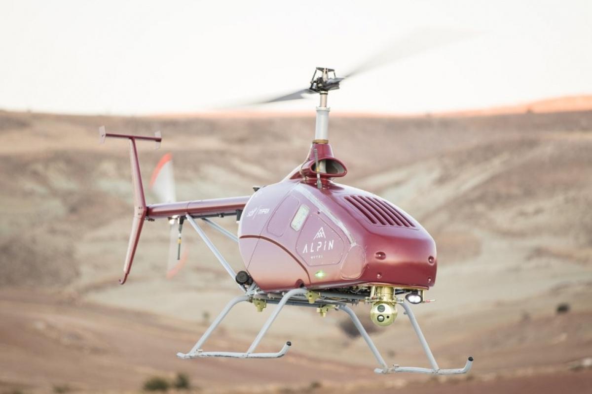 İnsansız helikopter Alpin Manavgat yangınında havadan anlık görüntü sağlıyor