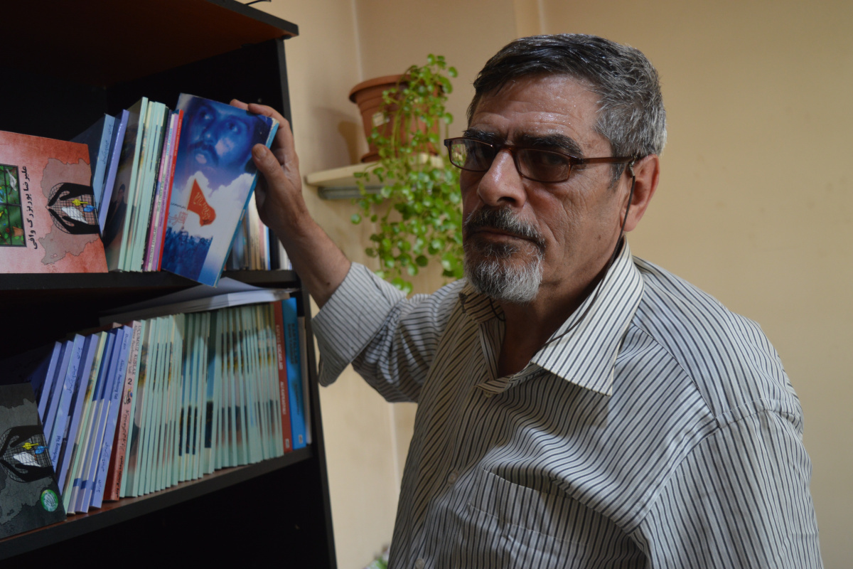 İran'da idam edilme ihtimali olan şair, yazma özgürlüğünü Türkiye'de buldu