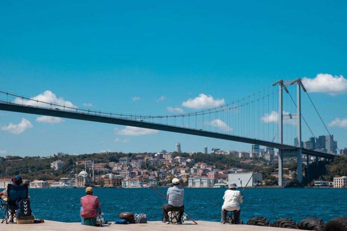İstanbul aşı haritasında mavi renge döndü