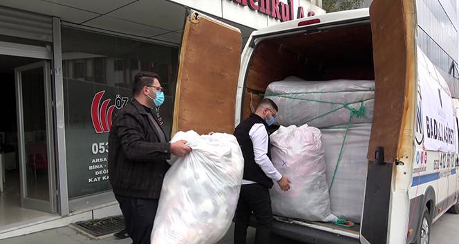 İstanbul'dan İzmir'e yardım eli