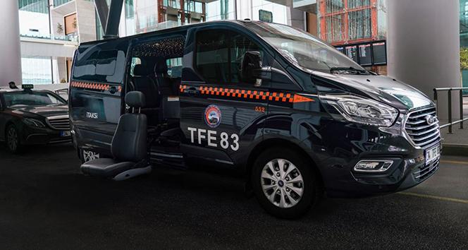 İstanbul Havalimanı'nda engelli yolculara özel taksi uygulaması