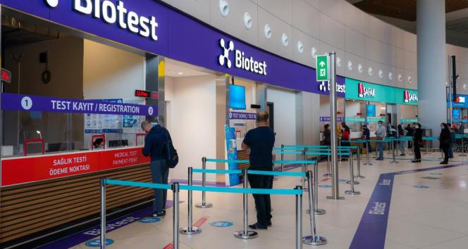 İstanbul Havalimanı'nda PCR test sonuç süresi kısaldı: 1,5 saatte Covid-19 testi