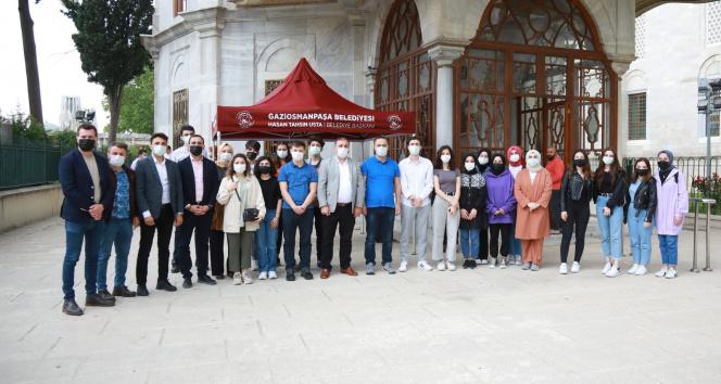 İstanbul'un fethi Gaziosmanpaşa'da mehter marşlarıyla kutlandı