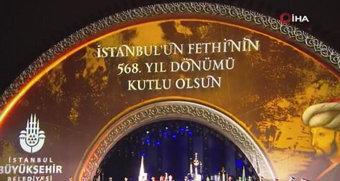 İstanbul'un Fethi'nin 568. yıldönümü Haliç Kongre Merkezi'nde etkinliklerle kutlandı