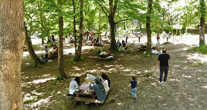 İstanbullular Belgrad Ormanı'na akın etti