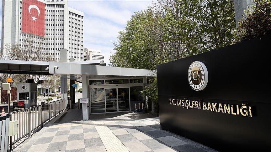 İtalyanın Ankara Büyükelçisi, Dışişlerine çağrıldı
