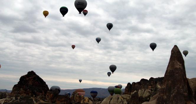 Kapadokya'da balon turları 6 gündür yapılamıyor
