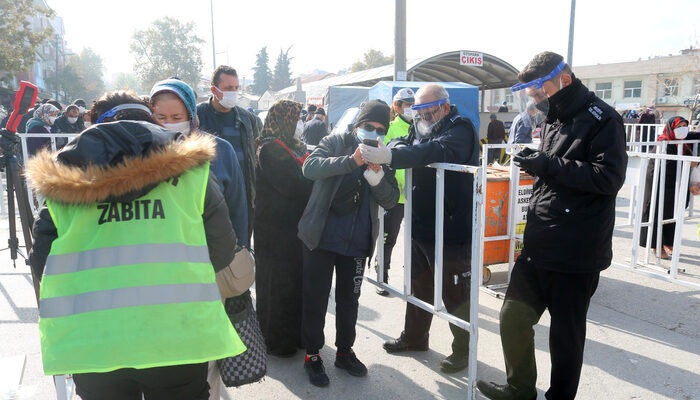 Karantinayı ihlal eden vatandaş polislerden kaçamadı
