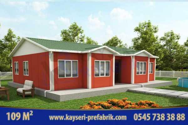 Kayseri Prefabrik Ev Yapımı