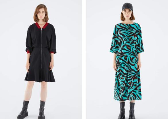 Kışlık Elbise Tasarımları