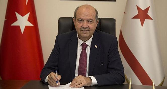 KKTC Cumhurbaşkanı Tatar'dan taziye için teşekkür mesajı