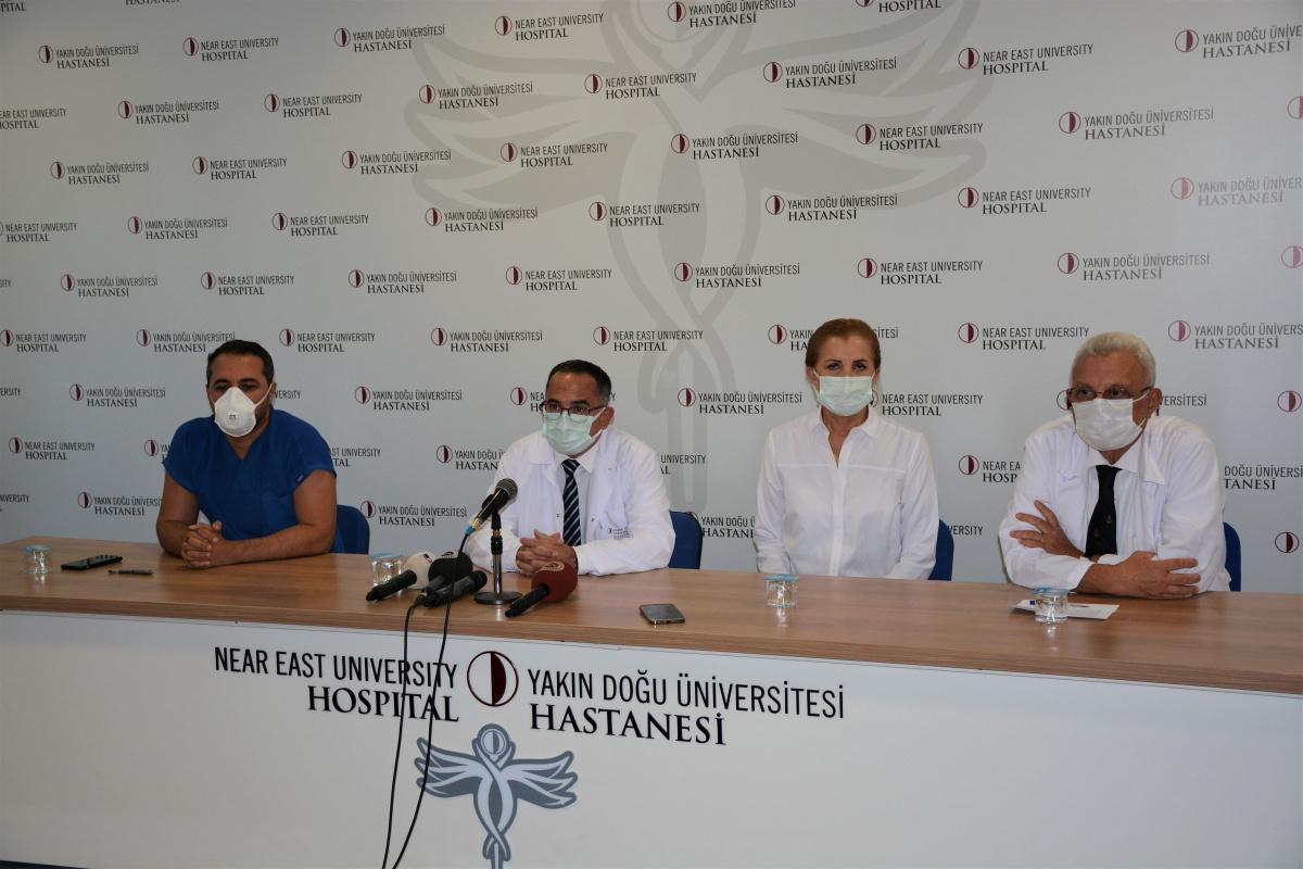 KKTC'nin 3. Cumhurbaşkanı Dr. Derviş Eroğlu'ndan iyi haber