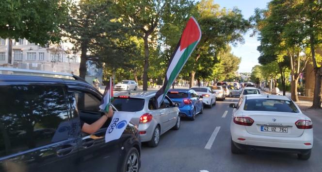 Konya'dan Filistin'e destek konvoyu