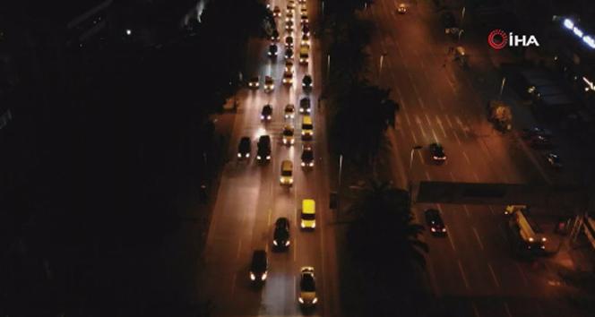 Kudüs'e destek olmak için binlerce araçtan oluşan konvoy düzenlendi