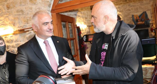 Kültür ve Turizm Bakanı Ersoy, Arnavutluk'ta