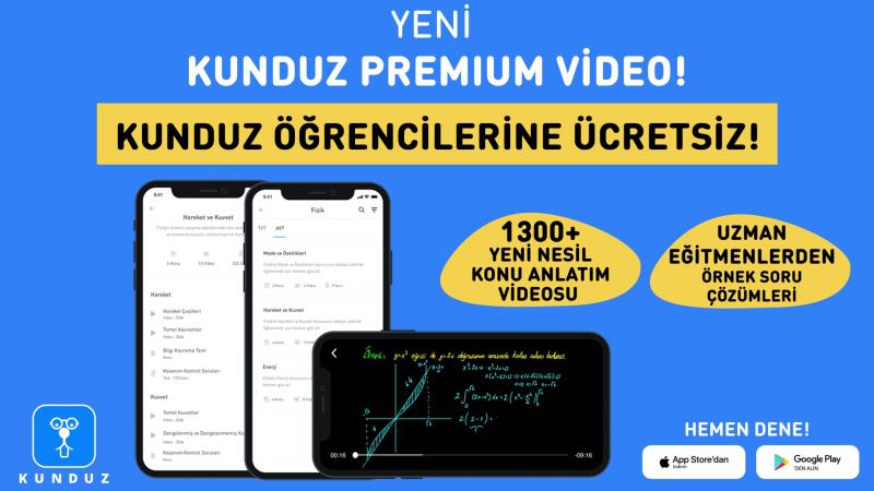 """Kunduz, yeni özelliğini duyurdu:""""Kunduz Premium Video"""""""
