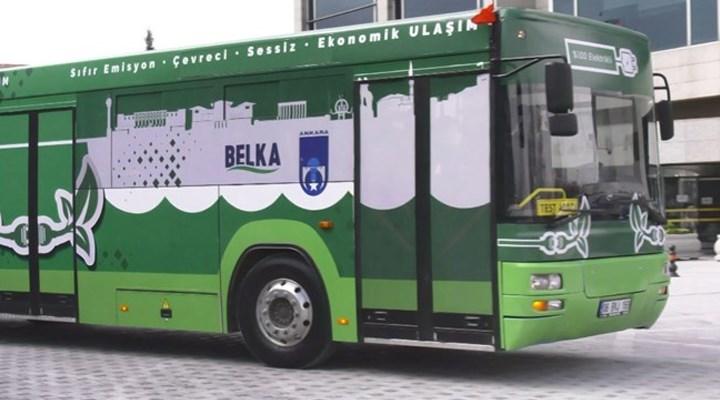 Mansur Yavaş, Türkiye'nin ilk elektrikli otobüsünü tanıttı