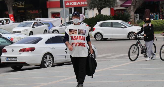 Mersin'den Alanya'ya yürüdü 'kim bu manyak' dediler