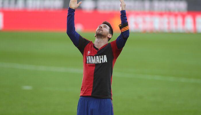 Messi'den tarihi an! Golünü attı, Maradona'ya selam gönderdi...