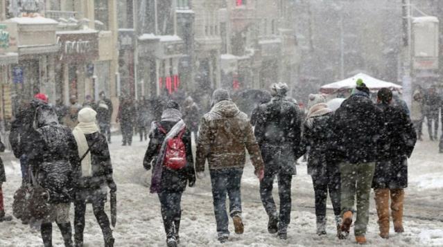 Meteoroloji'den Doğu Anadolu Bölgesi'ndeki 9 il için kar yağışı uyarısı