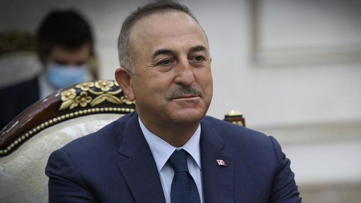 Mevlüt Çavuşoğlu, Fransız mevkidaşıyla görüştü