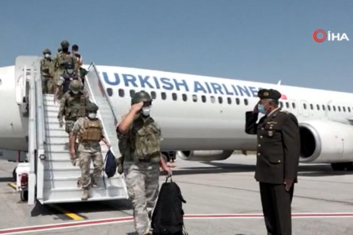 MSB Mehmetçiğin yurda dönüş görüntülerini paylaştı