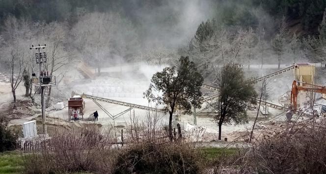 Muğla'da tedirgin eden görüntü