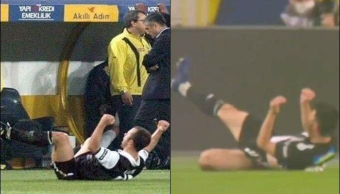 Necip Uysal, Fenerbahçe'ye attığı gol sonrası Koray Avcı gibi sevindi