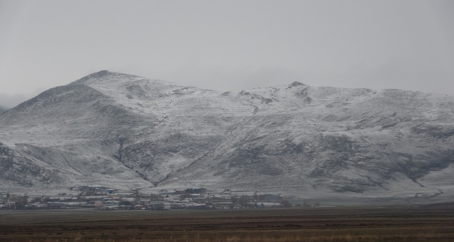 Nisan ortasında kar yağışı