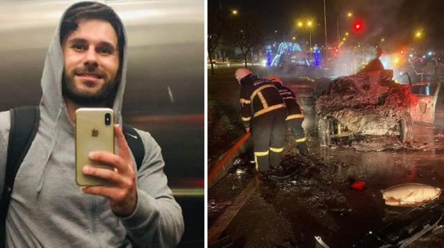 Oğlunu trafik kazasında kaybeden eski vekilden açıklama: Oğlum, alkollü sürücünün arkadan çarpmasıyla hayatını kaybetti