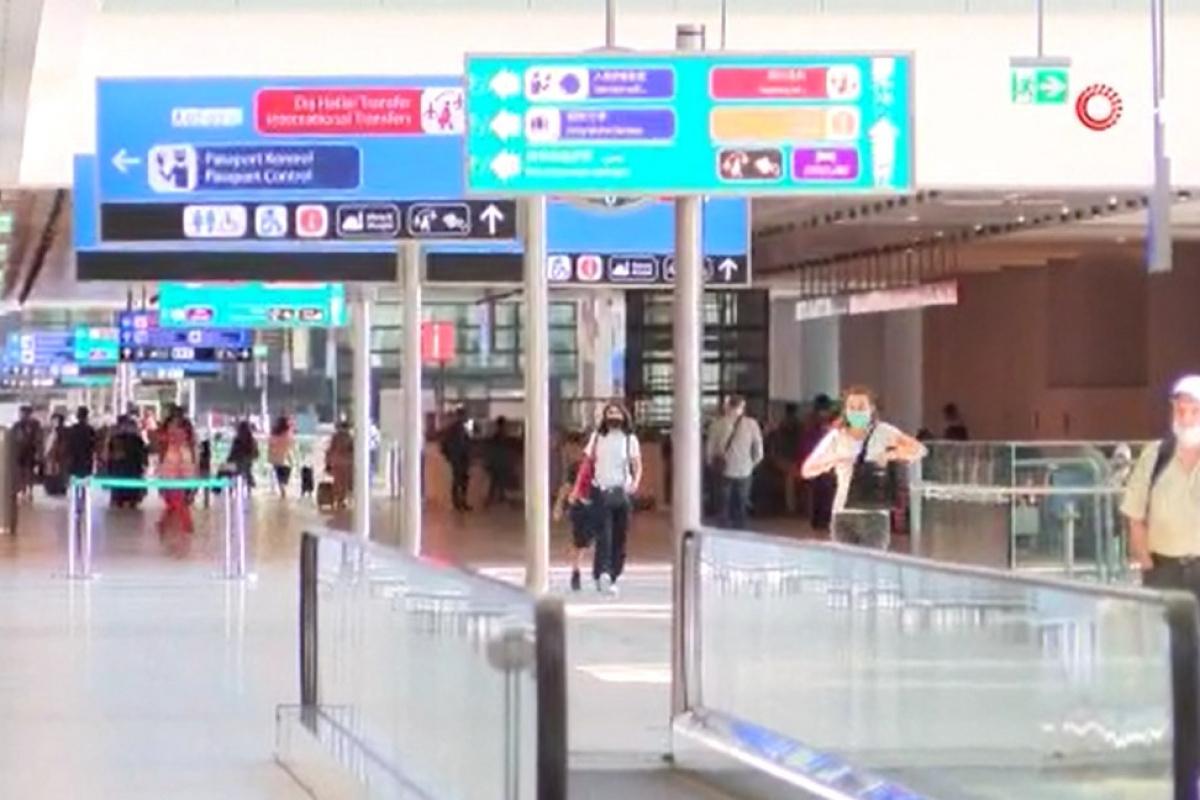 Rusya'ya gidemeyen Afgan grup, İstanbul Havalimanı'nda kaldı
