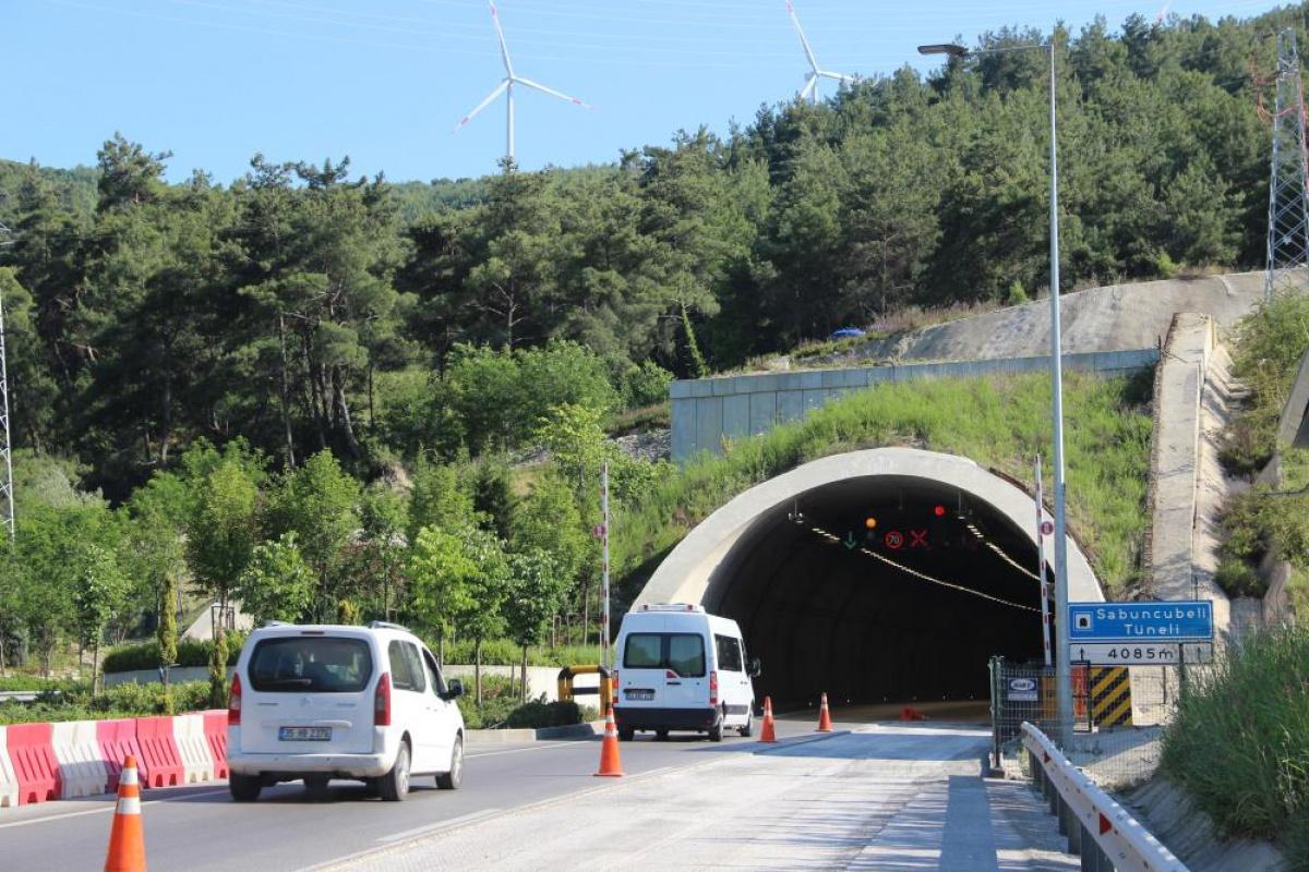 Sabuncubeli Tüneli hem zamandan hem yakıttan dev tasarruf sağlıyor