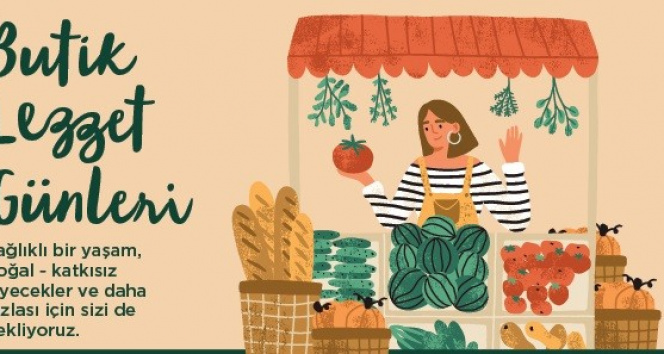 Sağlıklı gıda ürünleri, 'Butik Lezzet Günleri'nde tüketiciyle buluştu