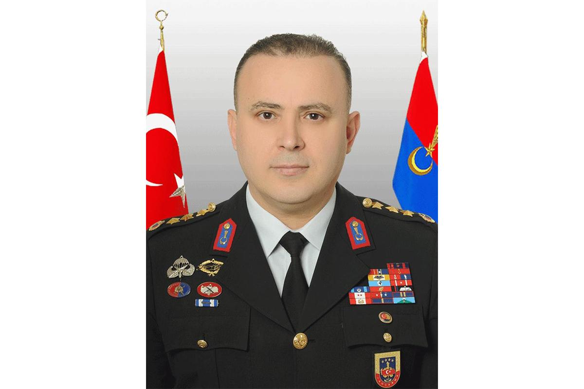 Samsun İl Jandarma Komutanı İbrahim Güven general oldu ve Bitlis'e atandı