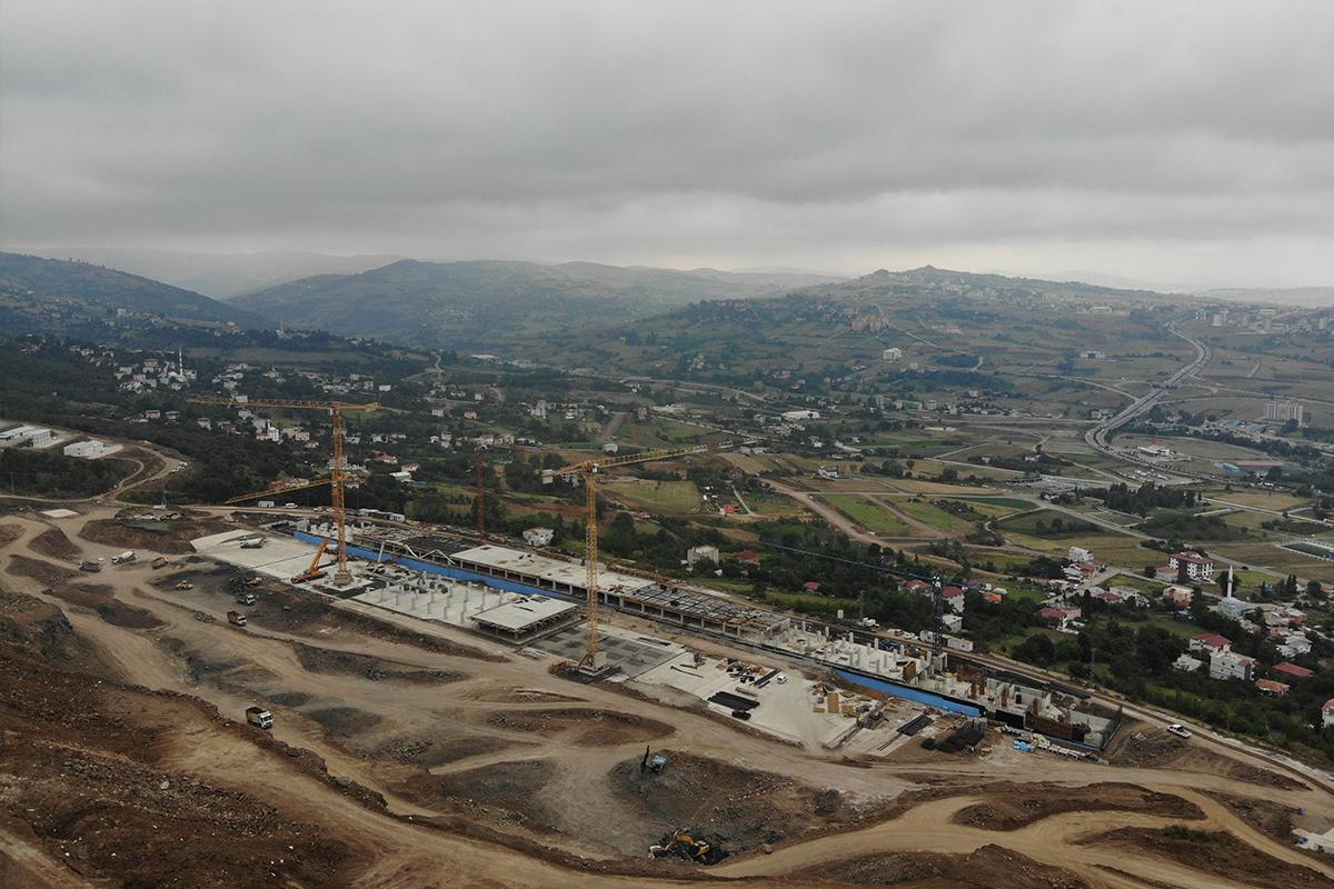 Samsun Şehir Hastanesi filizleniyor