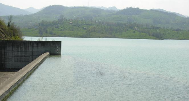 Samsun'un içme suyunu sağlayan Çakmak Barajı'nda doluluk oranı yüzde 57'ye çıktı