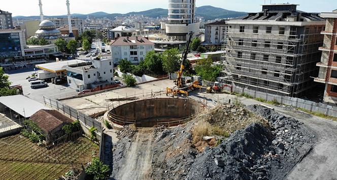 Sancaktepe-Yenidoğan metro hattının yapımının durdurulmasına vatandaşlardan tepki