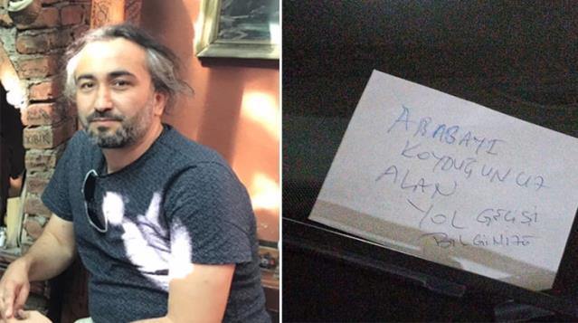 Savcının aracına not bıraktığı için gözaltına alınan komşu, 'mala zarar'dan değil 'tehdit'ten yargılanacak