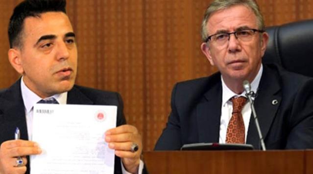 Seçim döneminde Mansur Yavaş'ı sahte senetle suçlayan Necmettin Kesgin tutuklandı