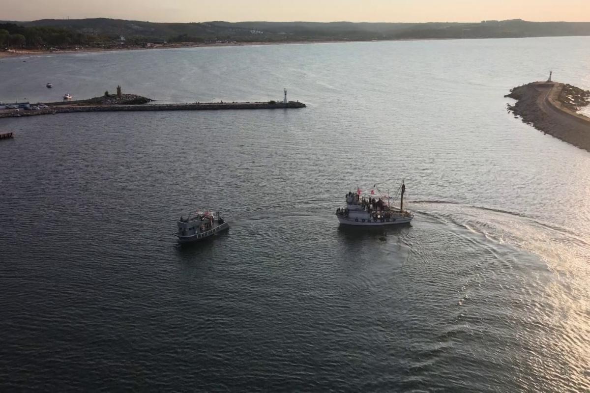Şile'de balıkçılar yasak sonrası 'vira bismillah' dedi