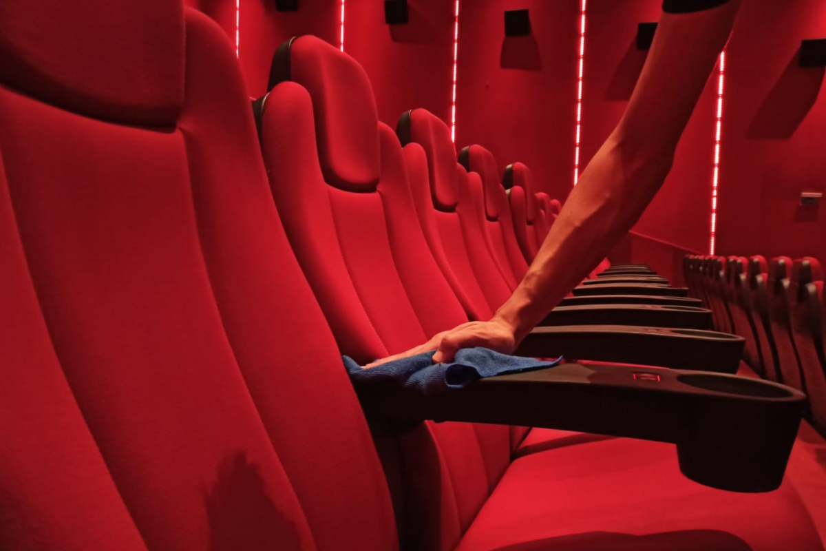 Sinema salonlarında hummalı hazırlıklar devam ediyor
