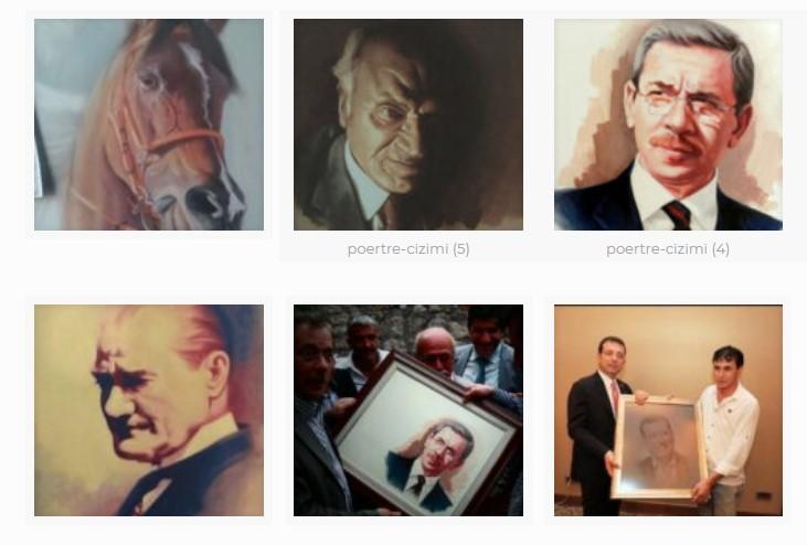 Sizin Ve Sevdiklerinizin Yüzünü Güldürecek Portre Çizimi