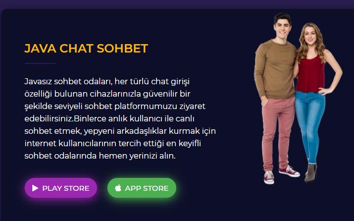 Sohbet Uygulaması Java Chat Sitesi