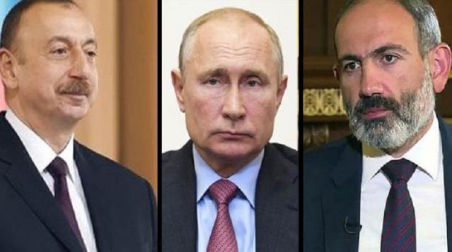 Son Dakika! Putin, Aliyev ve Paşinyan yarın Moskova'da Dağlık Karabağ konusunu görüşecek