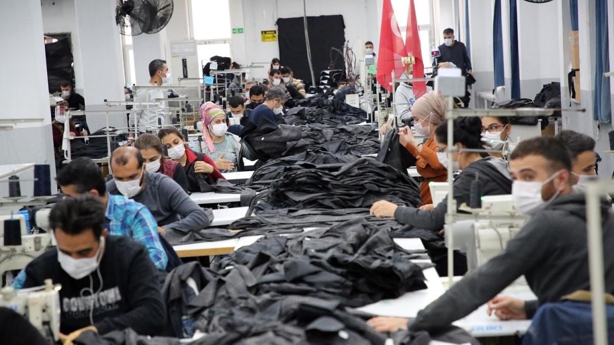 Sosyal Koruma Kalkanı çerçevesinde verilen 'Kısa Çalışma Ödeneği' hazır giyimcileri rahatlattı