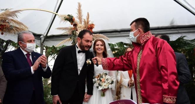 TBMM Başkanı Şentop nikah şahitliği yaptı