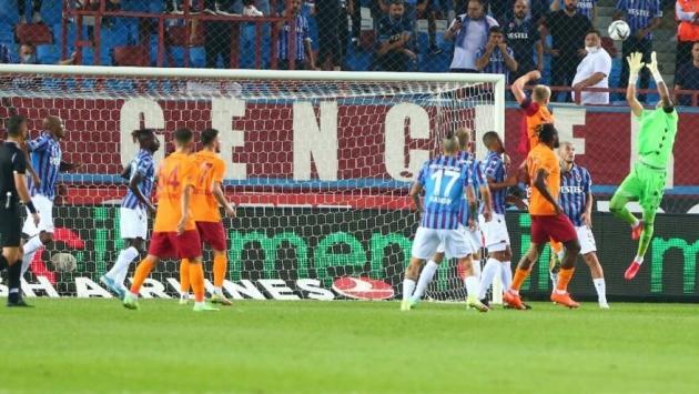 Trabzonspor-Galatasaray maçı nefes kesti: 2-2