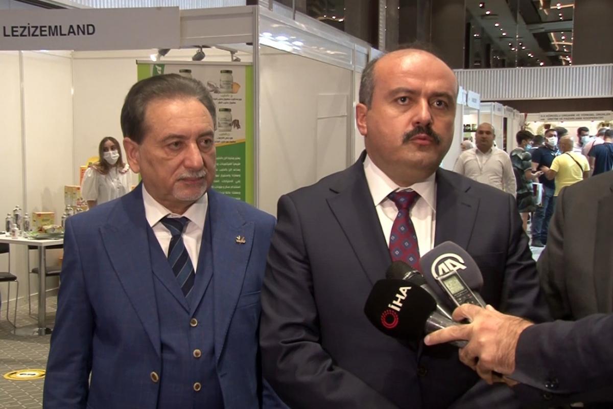 Türk-Arap Gıda ve Tarım Fuarı kapılarını açtı