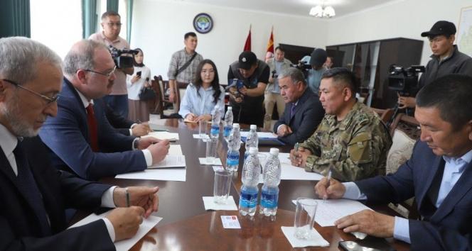 Türkiye'den Kırgız-Tacik sınırındaki çatışmalarda zarar görenlere insani yardım