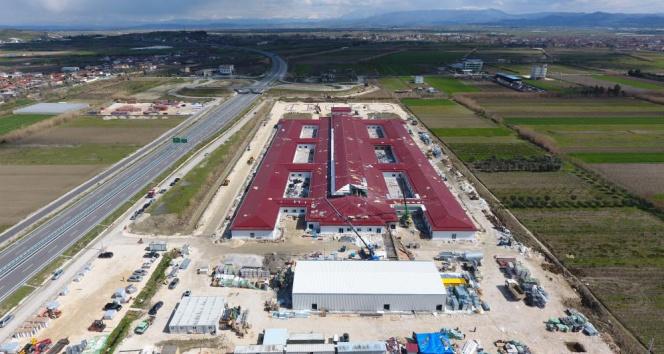 Türkiye'nin Arnavutluk'ta inşa ettiği hastanede sona doğru